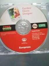 Garden /home designer software PC-CD Rom