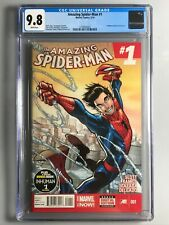 Amazing Spider-Man 1 - CGC 9.8 - 1st Cindy Moon (SILK)   🔥