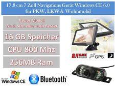 Elebest 17,8cm 7 Zoll Navigation,Navigationsgerät,PKW,Wohnmobil,Rückfahrkamera