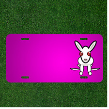 Custom Personalized Car License Plate With Add Names To Rabbit Animal Mammal