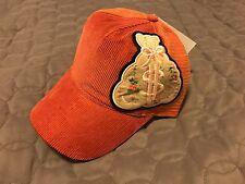 "Moneybag by Gene Simmons ""Money Bag"" Trucker Hat Orange Suede (Dussault)"