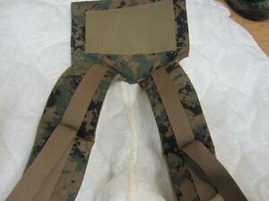 GENUINE ISSUE USMC ILBE MARPAT MAIN PACK Shoulder Straps New