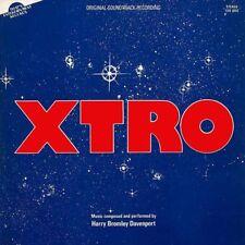 Xtro-Original puntuación-Azul Remolino Vinilo-Limited 300-Harry Bromley Davenport