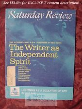 Saturday Review June 4 1966 ARTHUR MILLER EDWARD ALBEE DAVID DEMPSEY