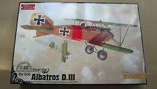 Albatros D.III  German fighter WWI   1/32  Roden  # 606
