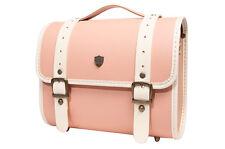 Luxury Leather DSLR Camera Bag Insert Case Messenger Shoulder Bag Preppie(Big)IP