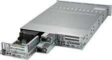 2U LFF Supermicro 2 Node Server 6028TR-DTR X10DRT-H ea: 2x E5-2620 V3 32GB RAM