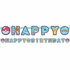 Pokemon, 2.18m long Happy Birthday Letter banner