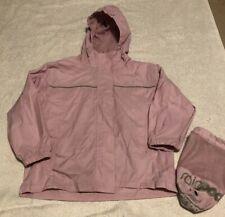 Girls Pink Gelert Rain Jacket With Rain Pod Bag