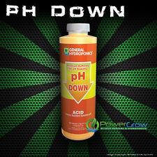 pH Down Adjustment Solution - 8oz PH Down by General Hydroponics