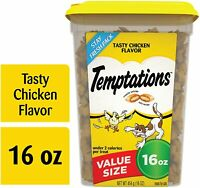 Temptations Classic Crunchy and Soft Cat Treats, Chicken 16 oz.