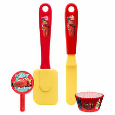 Zak Designs 4 pc Let's Make Cupcakes Kitchen Tool Kid's Activity Set Easter Cars