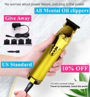 Suaperne Professional Cordless Trimmer Hair Clippers Trimmer Shaving Machine US#