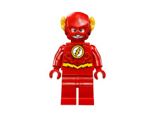 Lego The Flash 76098 211904 Gold Outlines on Chest Super Heroes Minifigure