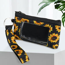 Leather Coin Purse,Sunflower