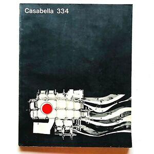 Casabella n. 334 marzo 1969 Rivista Architettura Archizoom Walter De Maria