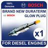 GLP006 BOSCH GLOW PLUG SSANGYONG Musso 2.9 Diesel 93-05 OM 662 D29 93-97bhp