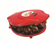 NEW, Bella Cake Pop and Donut Hole Maker Red
