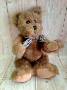 "Wonderful Classic Bearington Teddy Bear Full Jointed 17"""