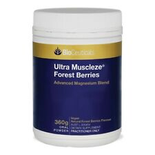BioCeuticals Ultra Muscleze Forest Berries 360g Oral Powder Magnesium Blend