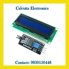 1602 Blue LCD with I2C Serial Interface / Sloderd