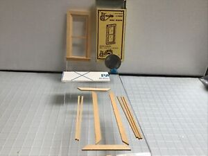 dollhouse miniatures 1:24 housework's windows