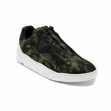"Dior Men's Canvas ""B17"" Trainer Sneaker Shoes Camoflauge Black/Green"