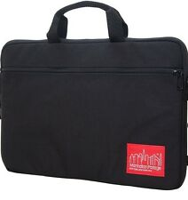 MANHATTAN PORTAGE ( CONVERTIBLE ) LAPTOP BAG/SLEEVE/CASE~ BLACK  MED : UP TO 17""