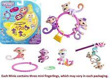Fingerlings Minis Series 1 Meg Includes 3 Figurines 1 Charm 1 Bracelet