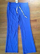 Abbot + Main Women's Lounge Pants, Sweatpants, Size L NWT Blue