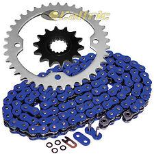 Blue O-Ring Drive Chain & Sprockets Kit Fits YAMAHA RAPTOR 700 YFM700R 2006-2016