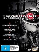 TERMINATOR QUADRILOGY 1 2 3 4 : NEW DVD