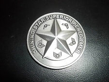UNITED STATES AIR FORCE SECURITY HILL TOP III SHINING STAR Challenge Coin NEW