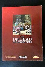 Épuisé Citadel/Warhammer Chaos Morts-vivants Collectors Guide Softback Book 2004