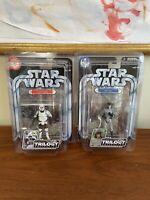 "STAR WARS Han Solo Scout Trooper 3.75"" Figure OTC Original Trilogy #35 2004 NEW"