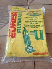 Eureka Filteraire 57802A Vacuum Cleaner Bags Type U, 3-Pack, New Genuine