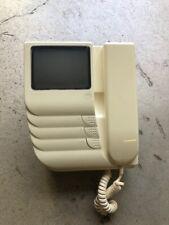 URMET DOMUS Scout monitor videocitofono b/n semi incasso 1204, con staffa parete