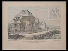 PLERIN LES ROSAIRES, SAINT DENIS - 1910 - PLANCHES ARCHITECTURE - MARTEROY