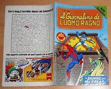 ED.CORNO SERIE  IL GIORNALINO DELL'UOMO RAGNO  N° 26  1981  !!!!!
