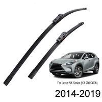 """2PCS Front Windshield Wiper Blades For Lexus NX200 NX200t NX300h 14-19  26""""+16"""""""