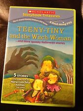 Teeny Tiny and the Witch Woman... and More Spooky Halloween Stories (DVD, 2011)