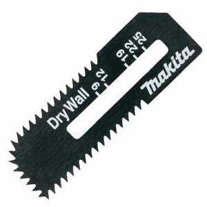 GENUINE MAKITA BOARD CUTTER CUT-OUT SAW BLADE 2 PIECE B-49703 - SD100, DSD180