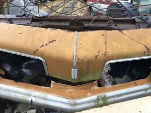 1973 1974 Oldsmobile Cutlass Supreme FRONT BUMPER ASSEMBLY COVER REINFORCEMENT