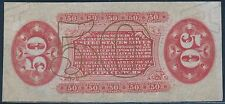 Fr1330-a-Sp 50¢ Reverse W/O Surcharge Fractional Note Proof Cu Cv $450 Bs9422