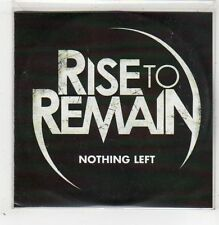 (GB486) Rise To Remain, Nothing Left - 2011 DJ CD
