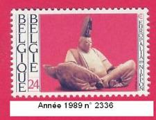 Année 1989  Timbre poste «Europalia '89» consacré au japon. N° 2336