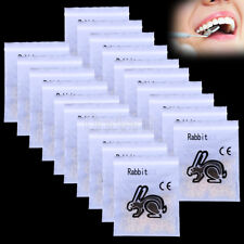 40Bags Dental Ortho Traction Elastic Rabbit  Force Rubber Band 3.5 OZ ,3/16""