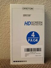 NEW 4 PACK OMOTON HD TEMPERED GLASS SCREEN PROTECTOR FOR LG G3