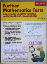 Further Mathematics Tests Preparing for Selective Schools Scholarship Exams