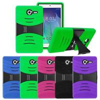Silicone Shockproof Armor Box Case W/Stand For Alcatel OneTouch POP 7 LTE/9015W